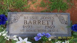 Bessie Mae <i>Jones</i> Barrett