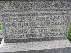 Noble W Rinearson