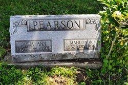 Mahlon B Pearson