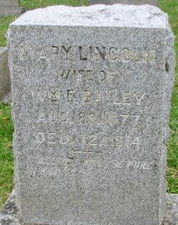 Mary <i>Lincoln</i> Bailey