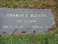 Charlie E Blevins