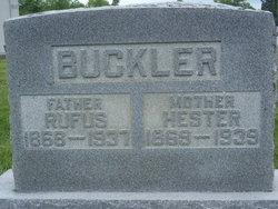 Hester <i>Curtis</i> Buckler