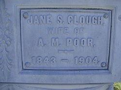 Jane Sawyer <i>Clough</i> Poor