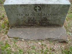 Thomas K Adams