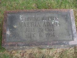 Martha Adams