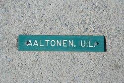 Urho Lennart Aaltonen