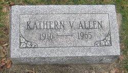 Kathern V Allen