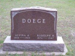 Alvina Adeline <i>Schultz</i> Doege