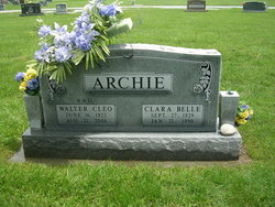 Mrs Clara Belle Archie