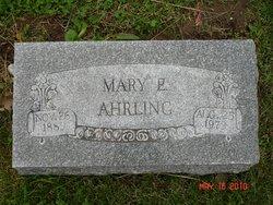 Mary <i>Engle</i> Ahrling