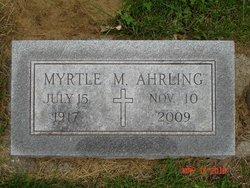 Myrtle Melissa <i>Hopper</i> Ahrling
