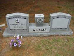 William F Bill Adams