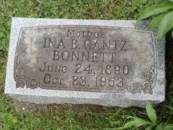 Ina Belle <i>Gantz</i> Bonnett