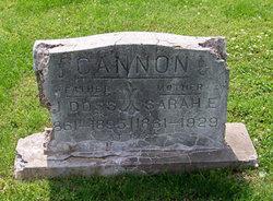 Sarah Elizabeth Sallie <i>Fulkerson</i> Cannon