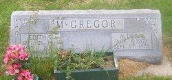 Alfred Dean Dean McGregor
