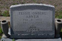 Tessie <i>Omberg</i> Abner