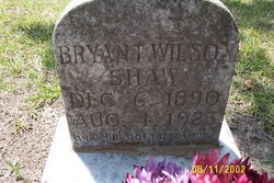 Bryant Wilson Shaw