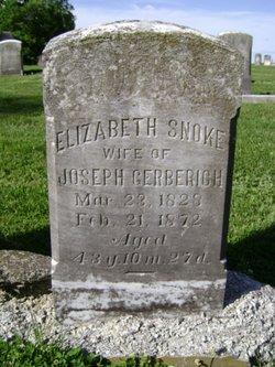Elizabeth <i>Snoke</i> Gerberich