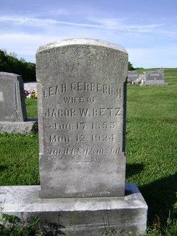 Leah <i>Gerberich</i> Betz