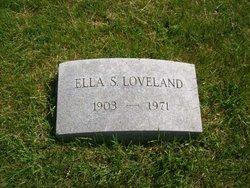 Ella <i>Snellbaker</i> Loveland
