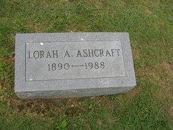 Lorah <i>Terhune</i> Ashcraft