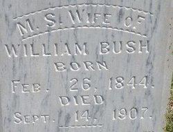 Margaret Susannah <i>Cook</i> Bush