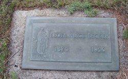 Leota Alice <i>Stout</i> Becker