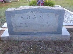 Lettie Alice <i>Heaton</i> Adams