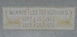 Minnie Lee <i>S</i> Howard