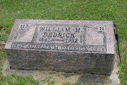 Pvt William H Dedrick