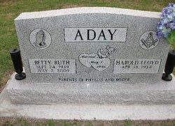 Betty Ruth <i>Rothrock</i> Aday