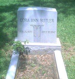 Cora Ann Butler