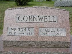 Alice <i>Crounse</i> Cornwell