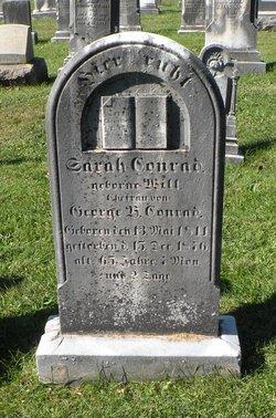 Sarah <i>Will</i> Conrad