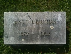 Bessie J <i>Weitzle</i> Bausman
