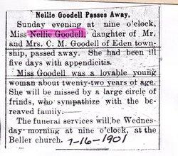 Nellie Velmay <i>Norris</i> Goodell