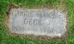 Carrie Marie <i>Jarchow</i> Deck