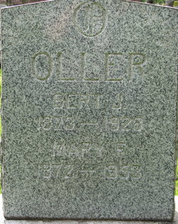 Mary F. <i>Ransom</i> Oller