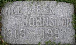 Annie <i>Meek</i> Johnston