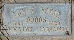 Annie <i>Fryer</i> Dodds