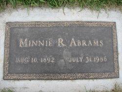 Minnie R Abrams