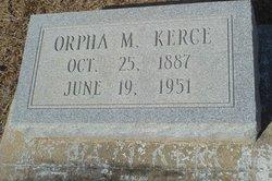Orpha M. Kerce