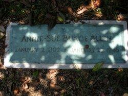 Annie Sue <i>Burge</i> Allen