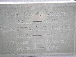 Henrietta A. <i>Brigham</i> Griggs