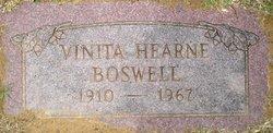Vinita Gladys <i>Hearne</i> Boswell