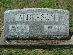 Millie L <i>Littrell</i> Alderson