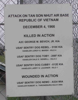 USAF Sentry Dog Cubby