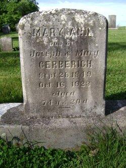 Mary Ann Gerberich