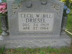 Cecil William Bill Driesel