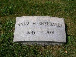 Anna M. <i>Coleman</i> Snelbaker